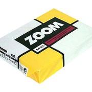 Бумага офисная ZOOM A4 фото