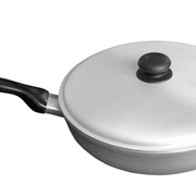 Алюминиевая сковорода. Диаметр: 295 мм. фото