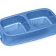 Миска пластиковая двойная Van Ness 1,25 л фото