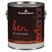 Краска Ben® Waterborne Exterior Low Lustre Finish (542) фото