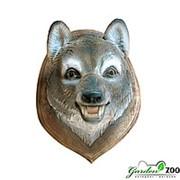 Панно Голова Волка фото