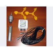Анемометр цифровой АСЦ-3М длина кабеля 15м 220В фото