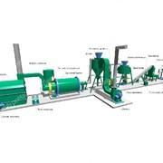 Линия для производства пеллет 600 кг/час фото