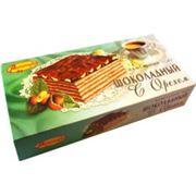 """Торт вафельный - """"Шоколадный с орехом"""" фото"""