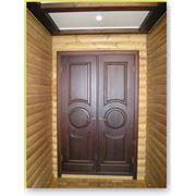 Белорусские двери из массива дуба, ольхи, сосны