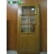Наружная остеклённая дверь. Тип 1С фото