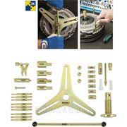 Набор инструментов для центрирования сцепления SAC (на 3-х опорах) HAZET 2174-1/34 фото