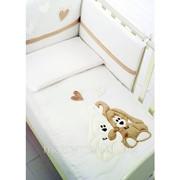 Стеганое одеяло Cremino крем от Baby Expert фото