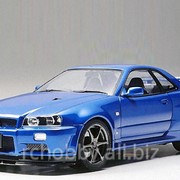 Модель Nissan Skyline GT-R V-Spec II R34 фото