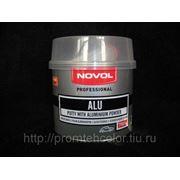 Шпатлевка NOVOL ALU (Новол), уп. 0,75 кг. фото