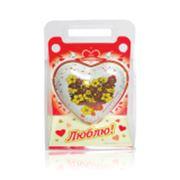 Сердце шоколадное фото