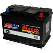 Аккумулятор AUTOPART AP722 72Ah 680A (R+) 276x175x175 mm фото
