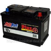 Аккумулятор AUTOPART AP772 77Ah 750A (R+) 276x175x175 mm фото