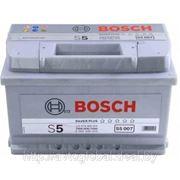 Аккумуляторы BOSCH 0092S50070 74Ah 750A 278/175/175 фото