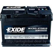 Аккумуляторы EXIDE EL700 фото