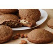 Печенье овсяное с начинкой фото
