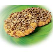Печенье сахарное Русский десерт с семенами подсолнечника фото
