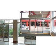 Двери стеклянные раздвижные фото