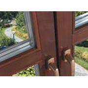 Балконные рамы из евробруса фото