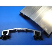 Алюминиевый прижимной профиль фото