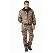 Костюм Пикник (куртка, брюки) (ткань Оксфорд) КМФКоричневый Лес фото