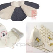 Шапки, наборы для бани и сауны из фетра и войлока фото