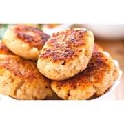 Доставка горячих блюд - Котлеты из телятины фото