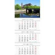 """Календарь настенный """"Трехблочный"""" фото"""