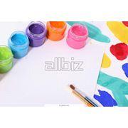 Краски гуашевые фото