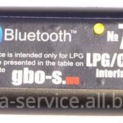 Bluetooth интерфейс для диагностики и настройки ГБО STAG фото
