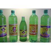 Напитки сладкие газированные безалкогольные Буратино Лимонад Крем-Сода Экстра-Ситро на основе питьевой воды Горячий Ключ-2000 с использованием сахарного сиропа. фото