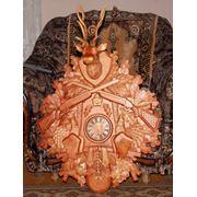 Часы из дерева резные фото