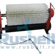 Щетка безмоторная для очистки конвейерной ленты 650 мм. фото