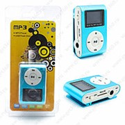 Mp3 Player RJ Gold с дисплеем Blue фото