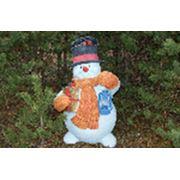Скульптура Снеговик фото