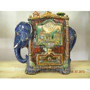 «Слон-шкатулка» Керамика фото