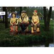 """Скульптуры """"Три разбойника"""" (большие) фото"""