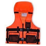 Жилет спасательный (подголовник) оранжевый фото