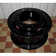 Диск колеса МАЗ с кольцами Евро 8,5х20 фото
