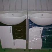 Тумба с мойкой для ванной комнаты (мойдодыр), 1115,50/1378,00грн. фото
