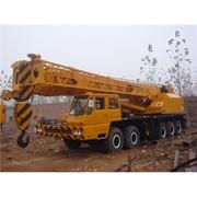 Аренда автокрана в Казахстане, 120 тонный кран с оператором фото