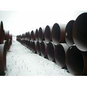 Трубы сварные для строительства магистральных газонефтепроводов