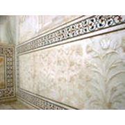 Мозаика из полудрагоценных камней фото