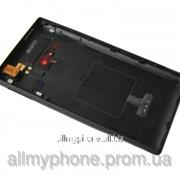 Задняя панель корпуса для мобильного телефона Nokia 720 Lumia black фото