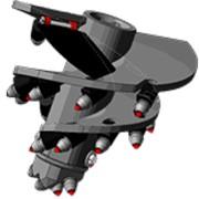 Бурильный инструмент: Бур конусный БК-02201 фото