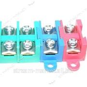 Клемники цветные сборные 4х4 (цена за упаковку) №012451 фото