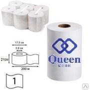 Бумажные рулонные салфетки для диспенсеров 200 метров (1 уп. - 6 рулонов)