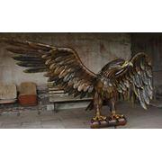 """Кованая скульптура""""Горный орел"""" фото"""