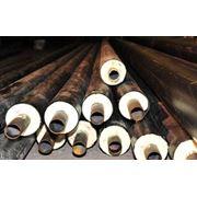 Труба стальная эл.сварн п/ш ст 09Г2С 159х50х1 ППУ-ПЭ фото