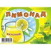 Безалкогольный напиток Лимонад 1,5 л фото